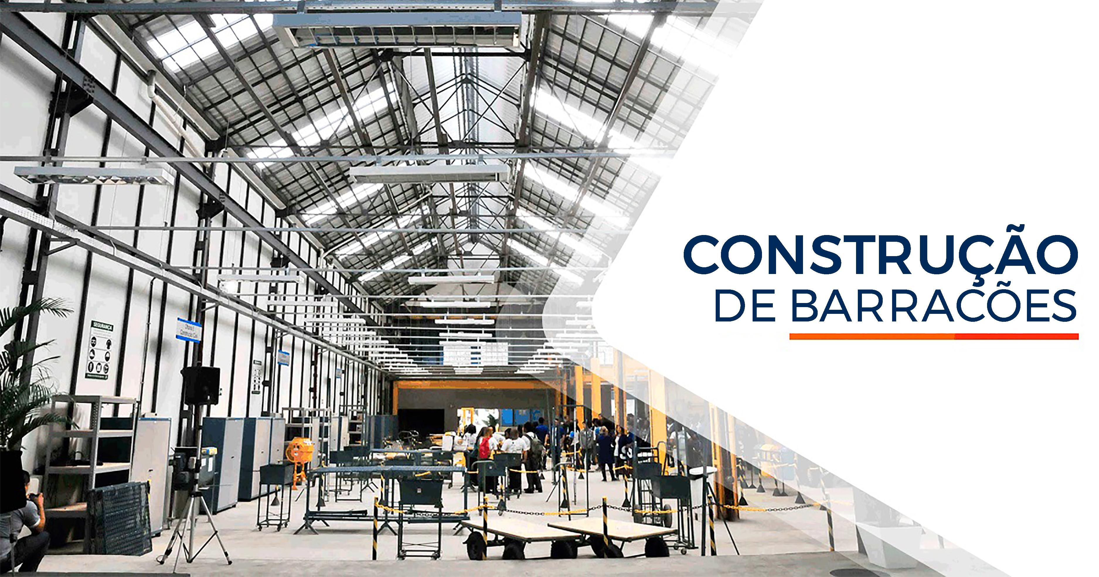 Construção de Barracões Santos