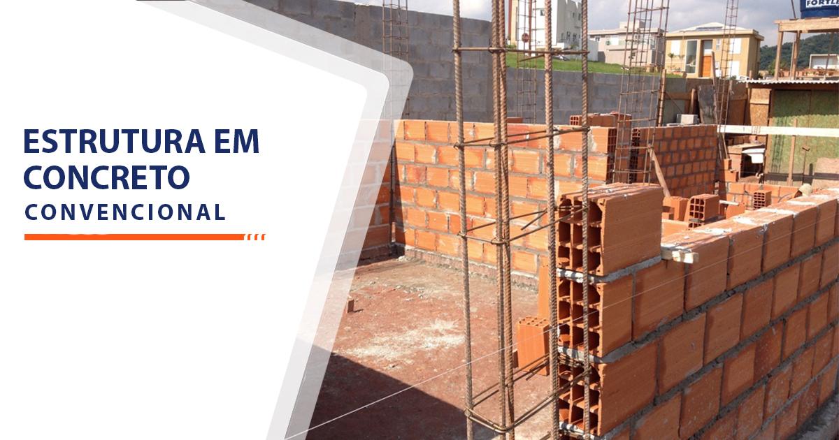 Estrutura de Concreto convencional Santos