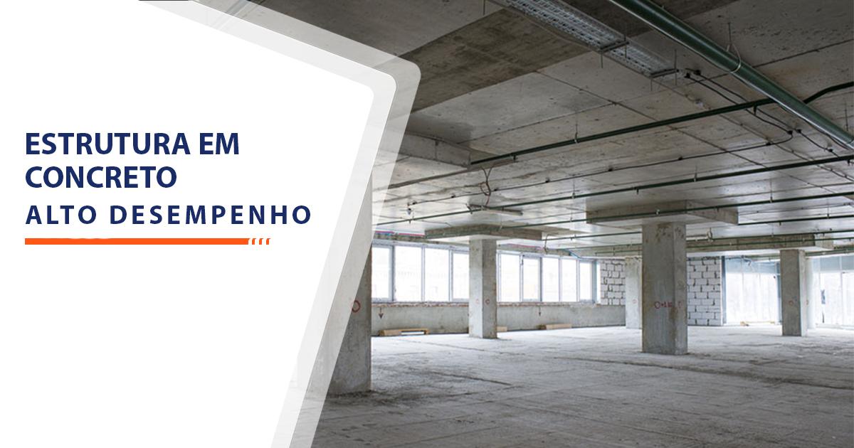 Estrutura de Concreto de Alto Desempenho Santos