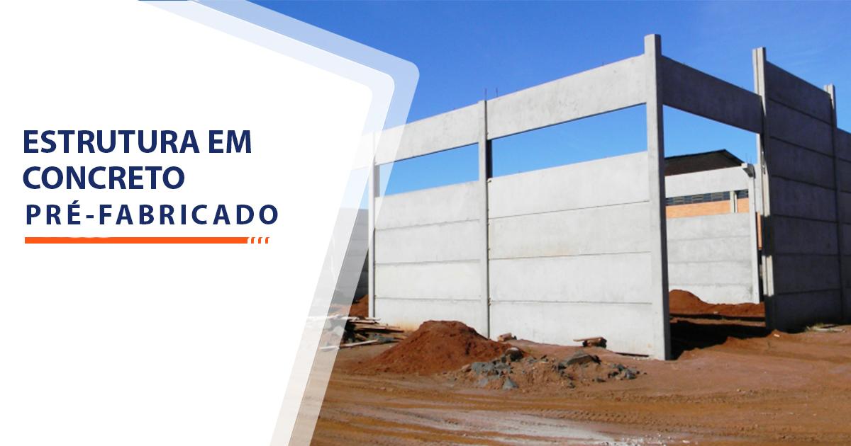 Estrutura de Concreto pré-fabricado Santos