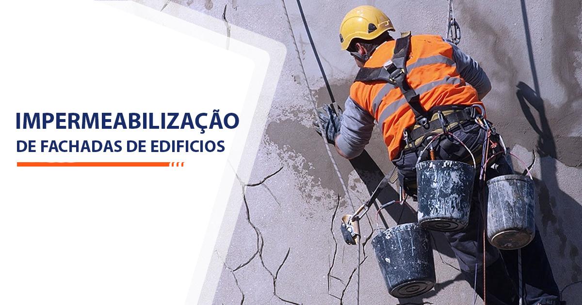Impermeabilização de Fachadas de Edificios Santos