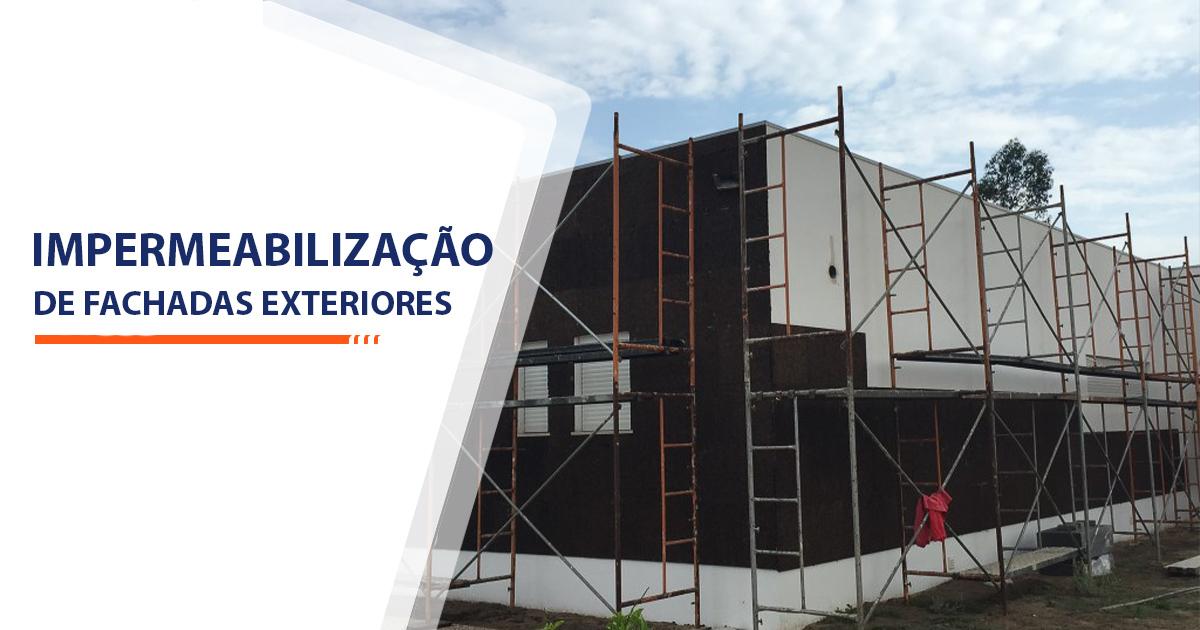 Impermeabilização de Fachadas Exteriores Santos