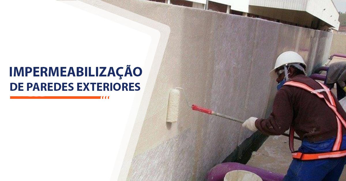 Impermeabilização de Paredes Exteriores Santos