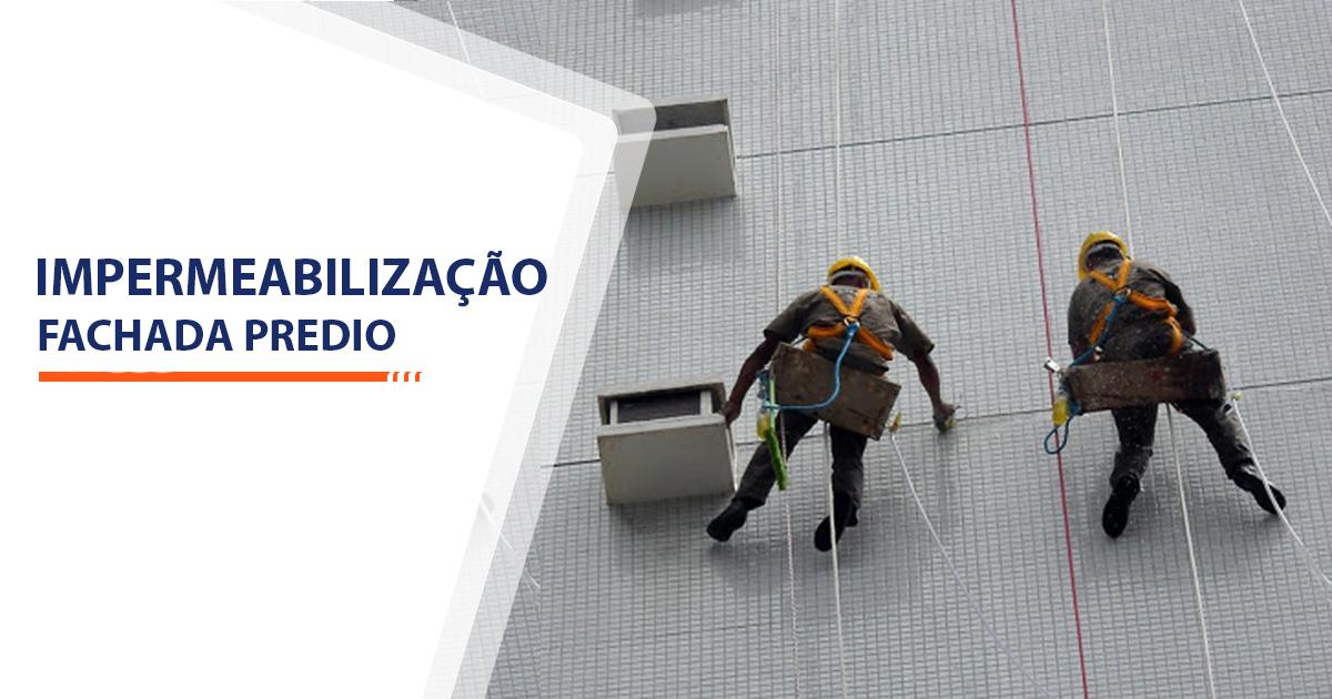 Impermeabilização Fachada Predio Santos