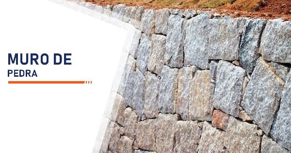Construção de Muro de Pedra Santos