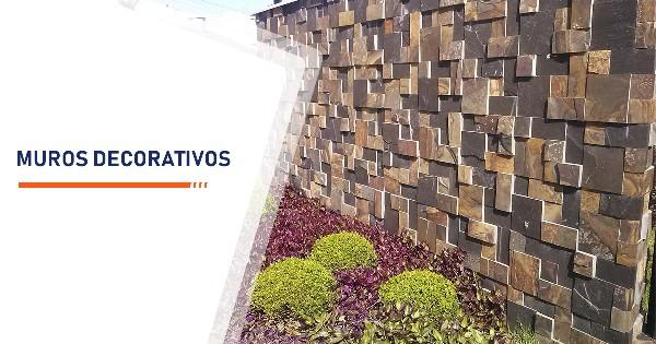 Construção de Muros Decorativos Santos