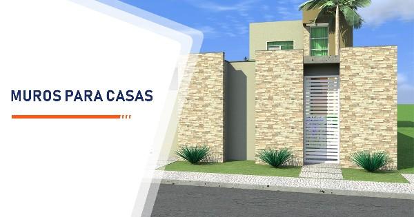 Construção de Muros para Casas Santos