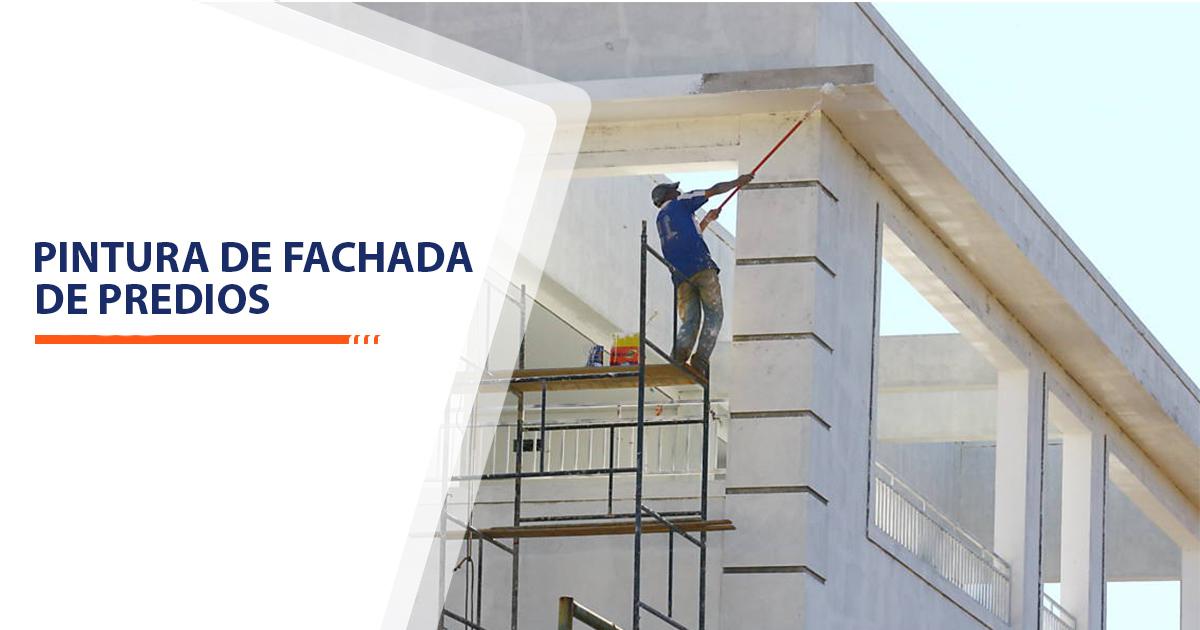 Pintura de Fachadas de Predios Santos