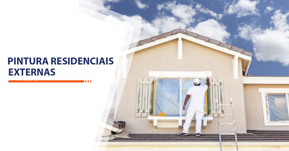 Pinturas Residenciais Externas Santos