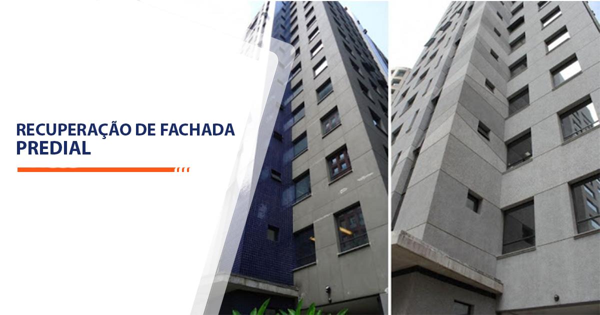 Recuperação de Fachada Predial Santos