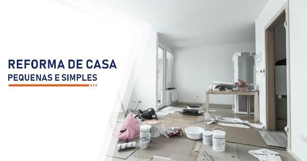 Reforma de Casas Pequenas Santos