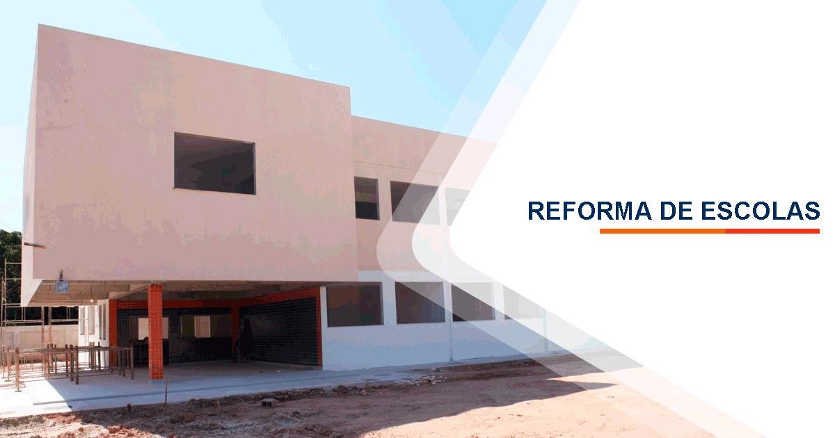 Reforma de Escolas Santos