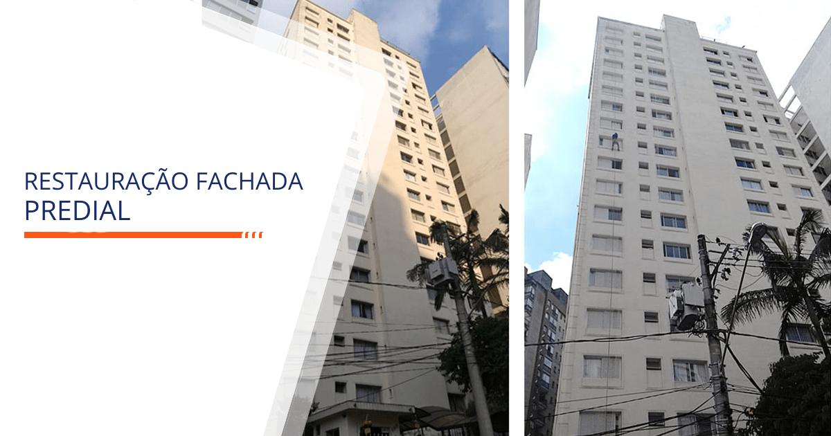 Reforma de Fachada Predial Santos