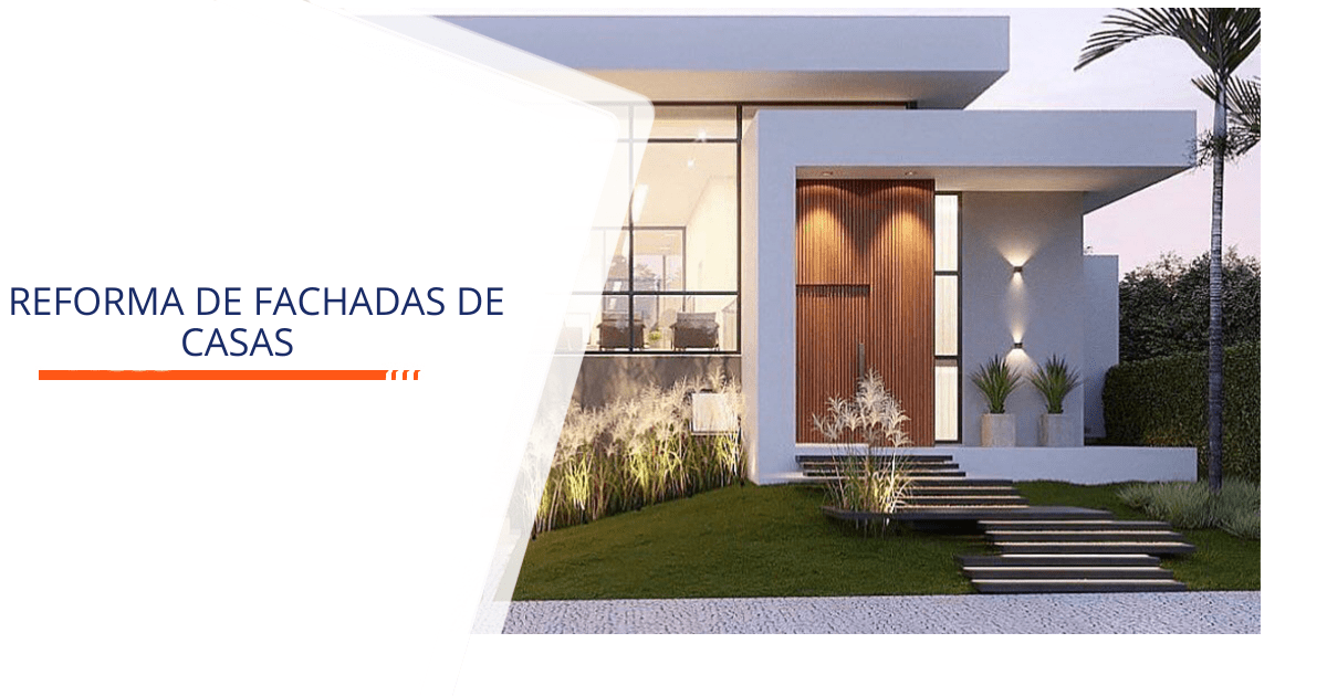 Reforma de Fachadas de Casas Santos