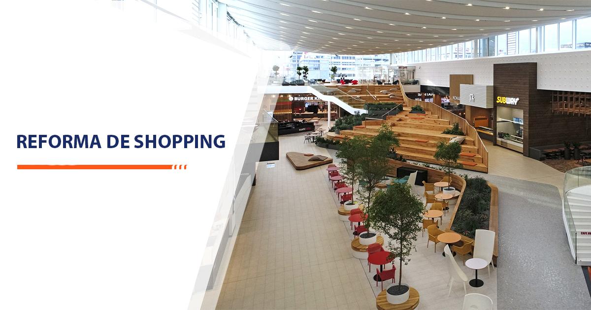Reforma de Shopping Santos